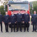 Alte und Neue Feuerwehrführung
